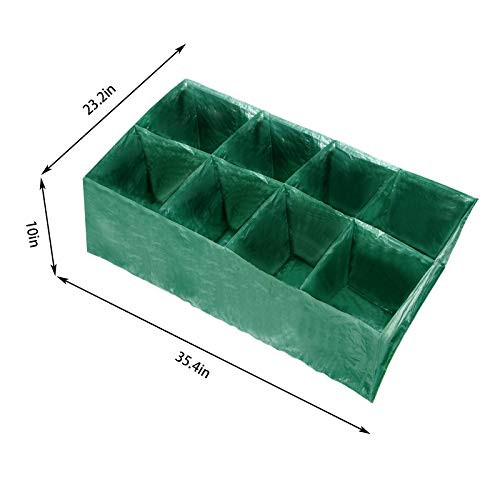 DYC 8 Divided Raised Garden Planting Bed-Divided Grids Large