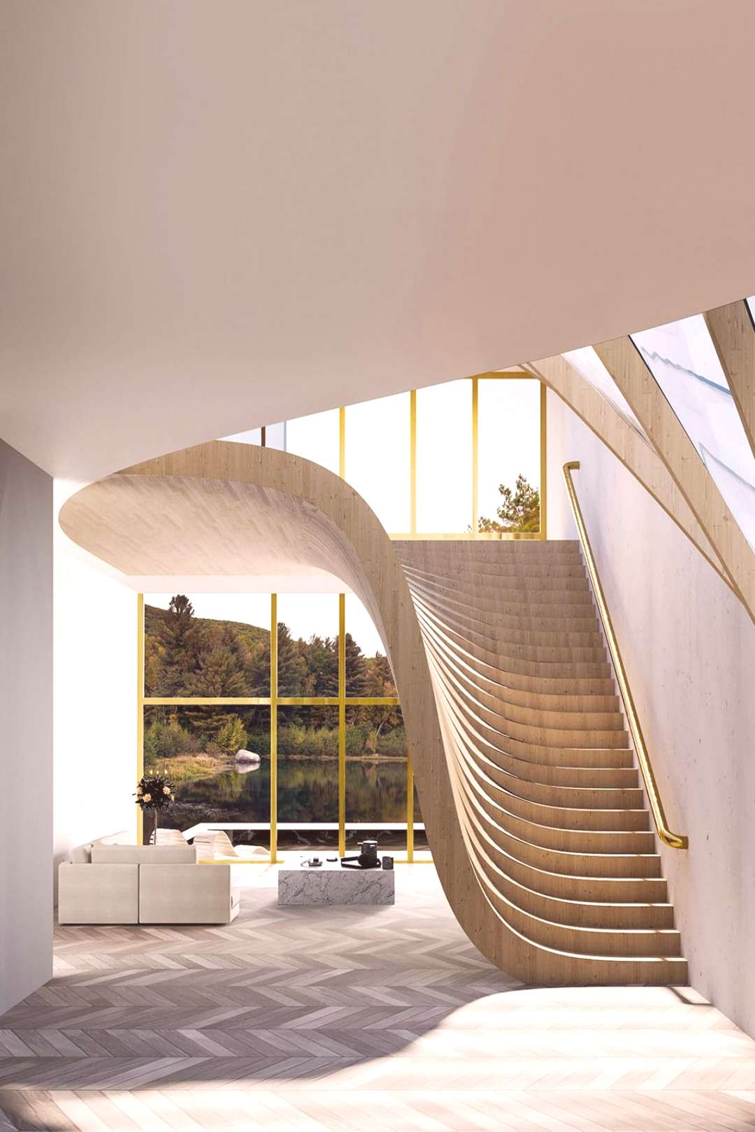 Extraordinary house located by the lake Türlersee in Switzerland Extraordinary house located by th