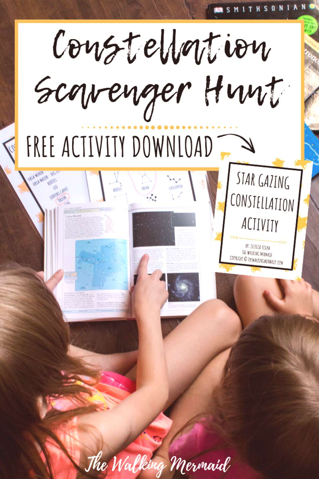 Fun Constellation Scavenger Hunt for Kids of All Ages This fun and interactive childrens scavenger