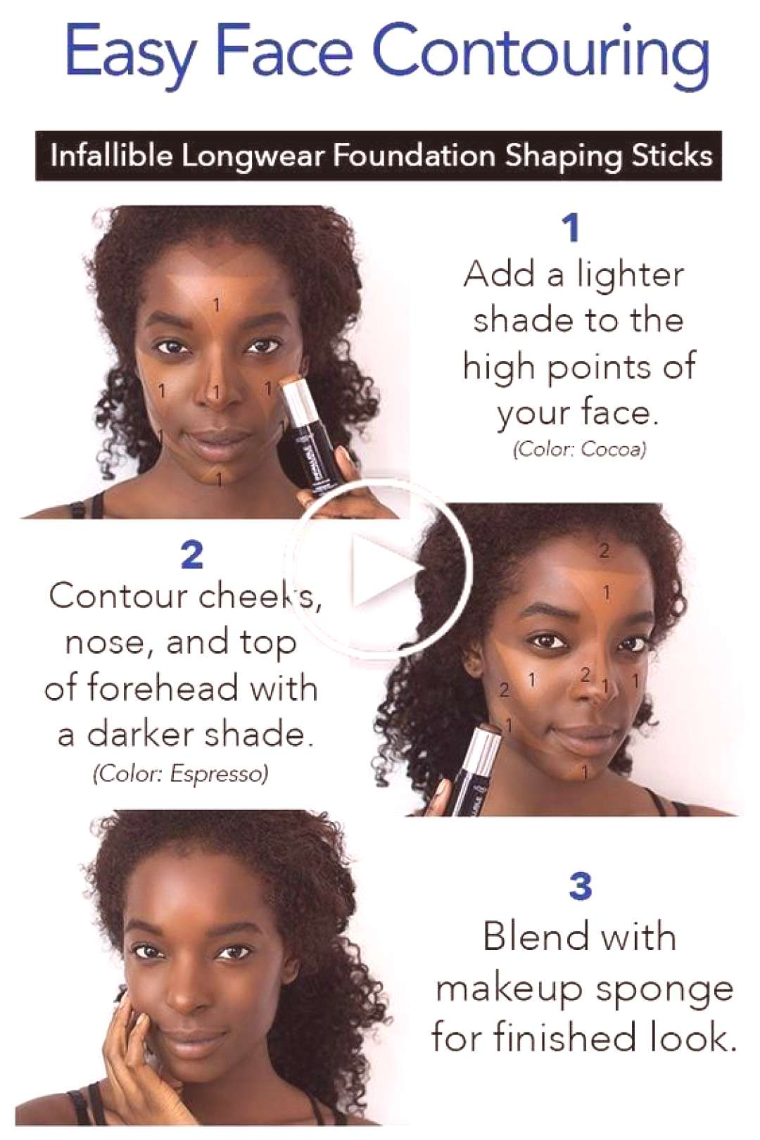 Girl tips and advice for easy contouring makeup - ABELLA PİNSHOUSE - maaghie Girl tips and advice