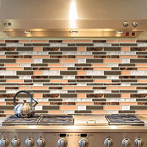 Grey and Brown Kitchen Wallpaper Peel and Stick Wallpaper