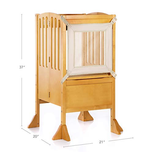 Guidecraft Contemporary Kitchen Helper Stool and 2 Keepers -