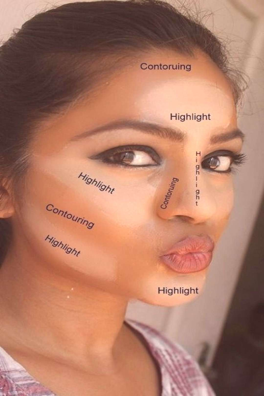 Have you heard of Makeup Contouring? It's a process of highlighting, bronzin… - Schönheit -