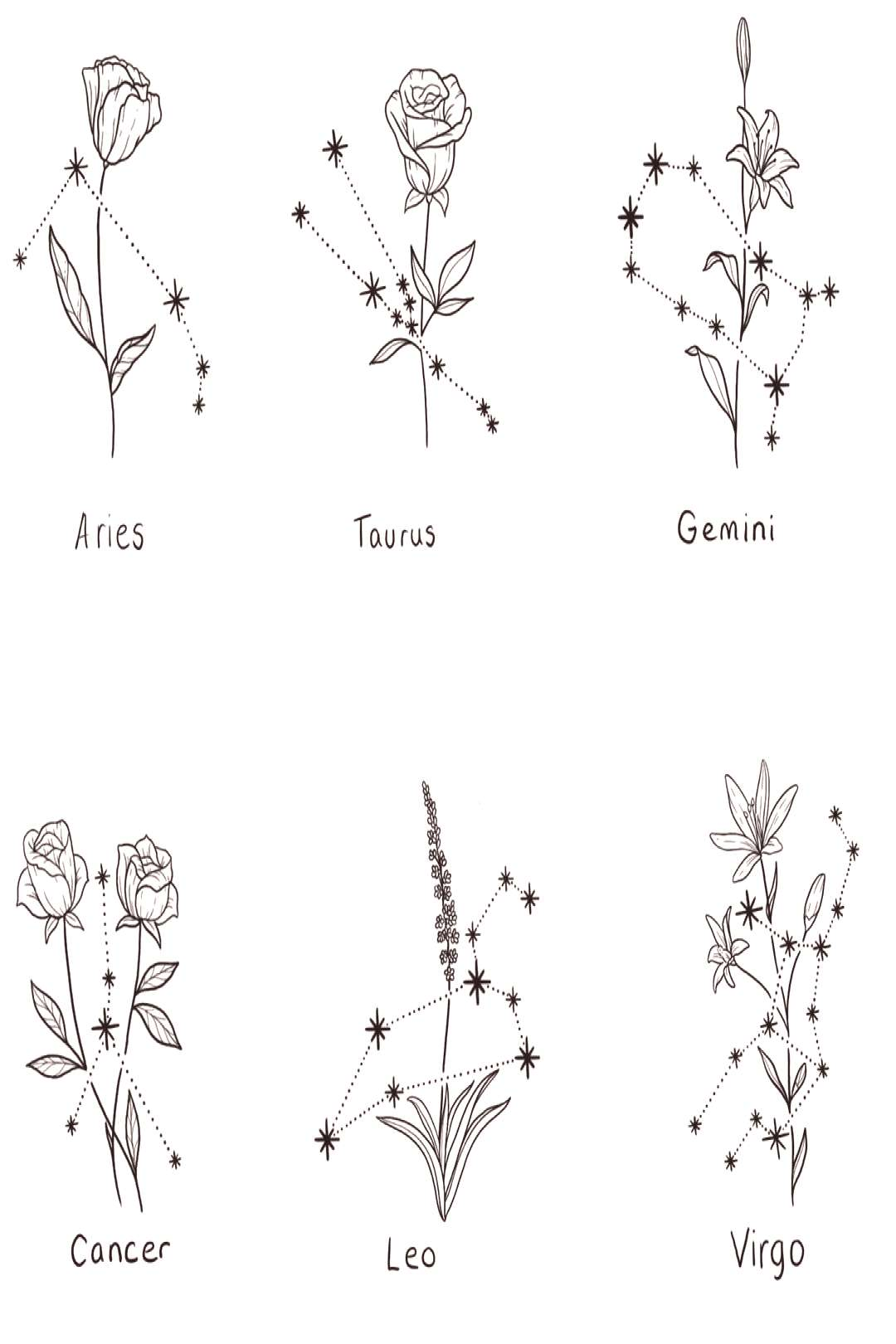 Heather ? on Instagram quotSmall floral constellations available! Flowers can ... - Heather ?