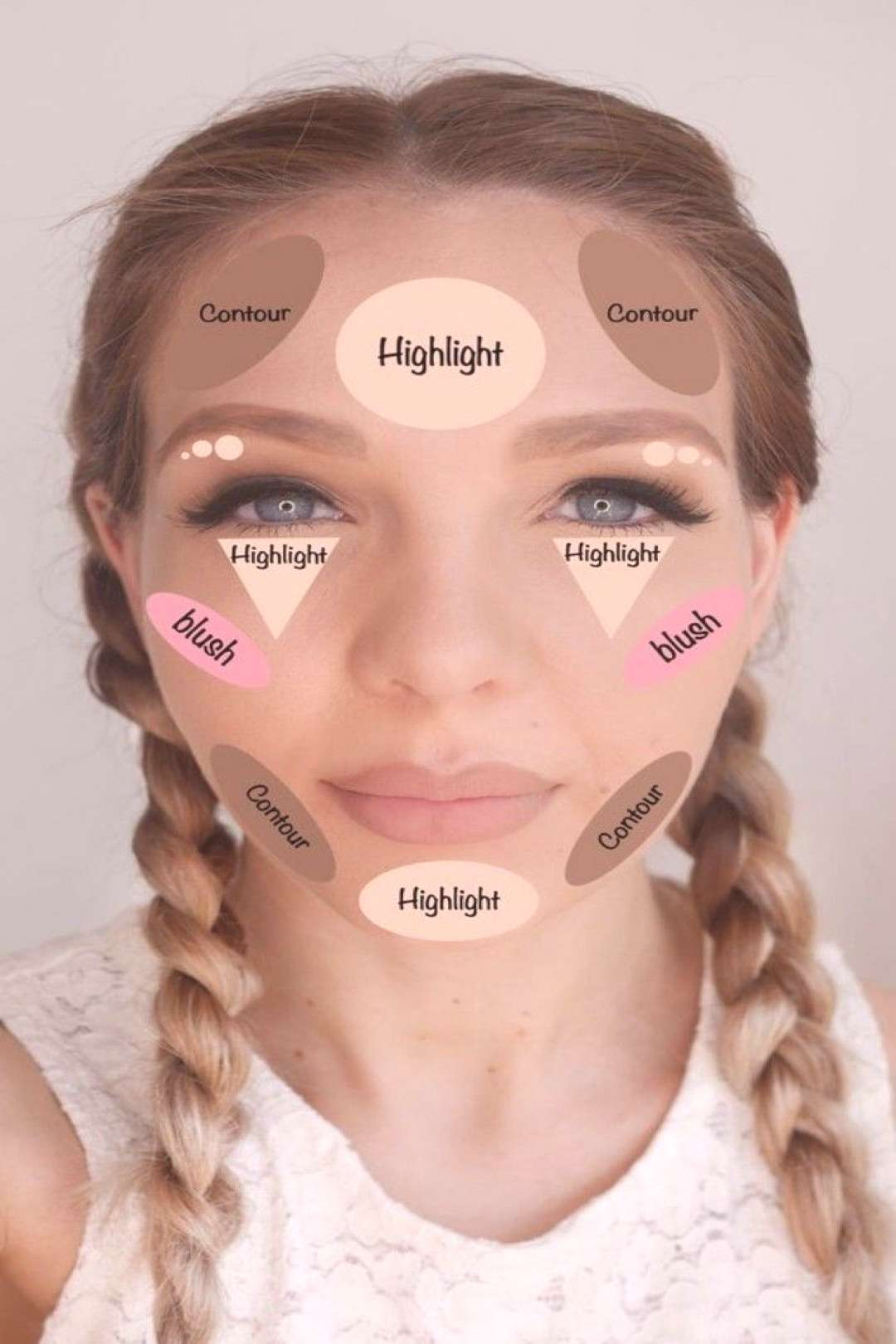 Here are several suggestions for a quick contouring makeup tutorial -  -  makeup tips, how to count