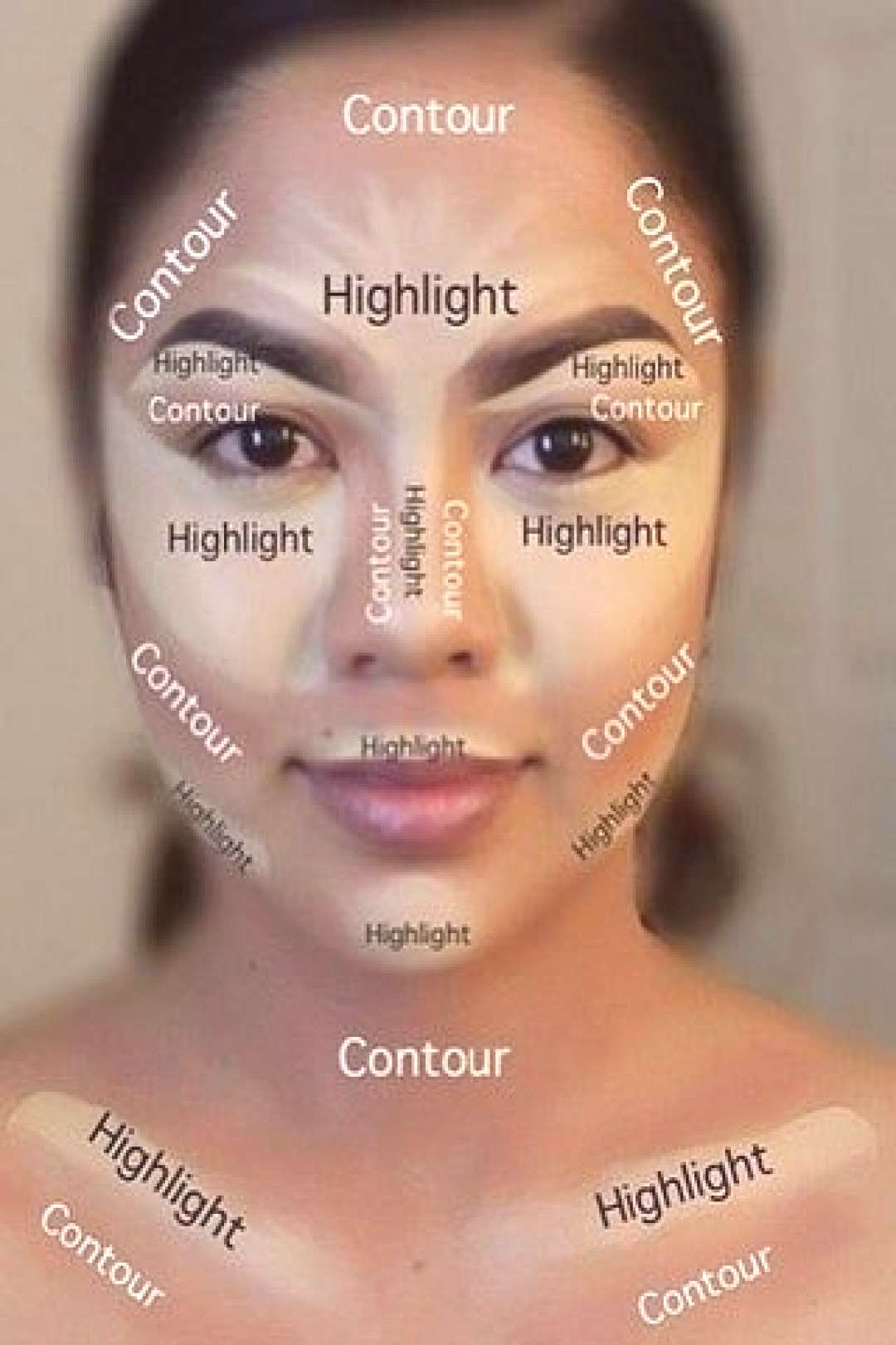 Highlighting and Contouring for Beginners - Highlighting and Contouring for Beginners 5 Steps -
