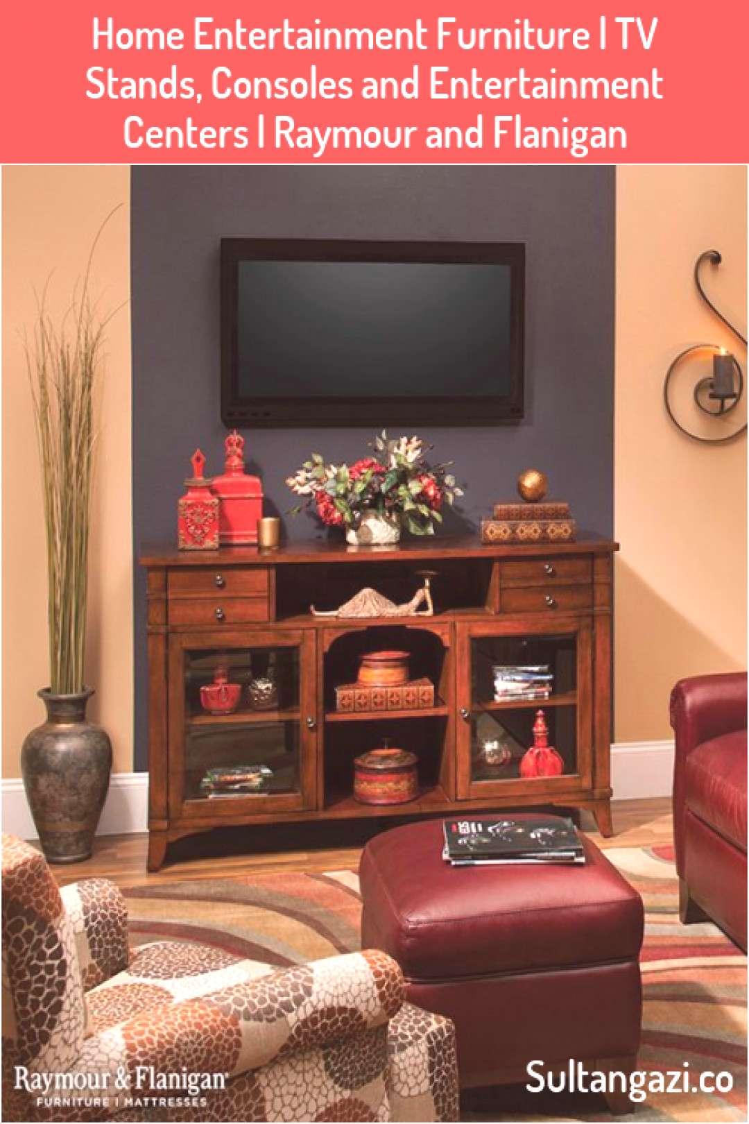 Home Entertainment Furniture  TV Stands Consoles and Entertainment Centers  Raymour and Flanigan