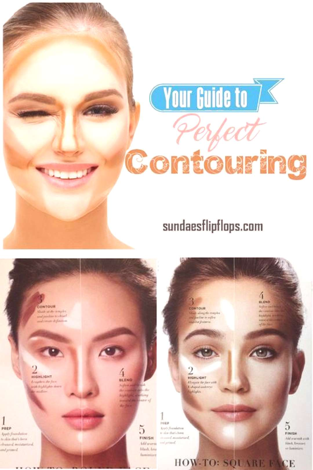 How to Contour Your Face - Contouring for Beginners#beginners