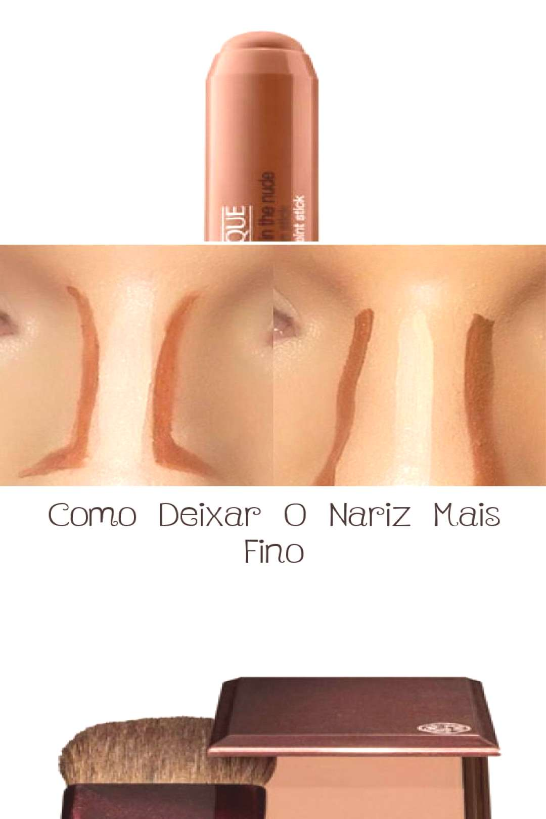 How to Make Your Nose Thinner - MAKEUP - Nose contour | Face Contouring Tutoring... - How to Make