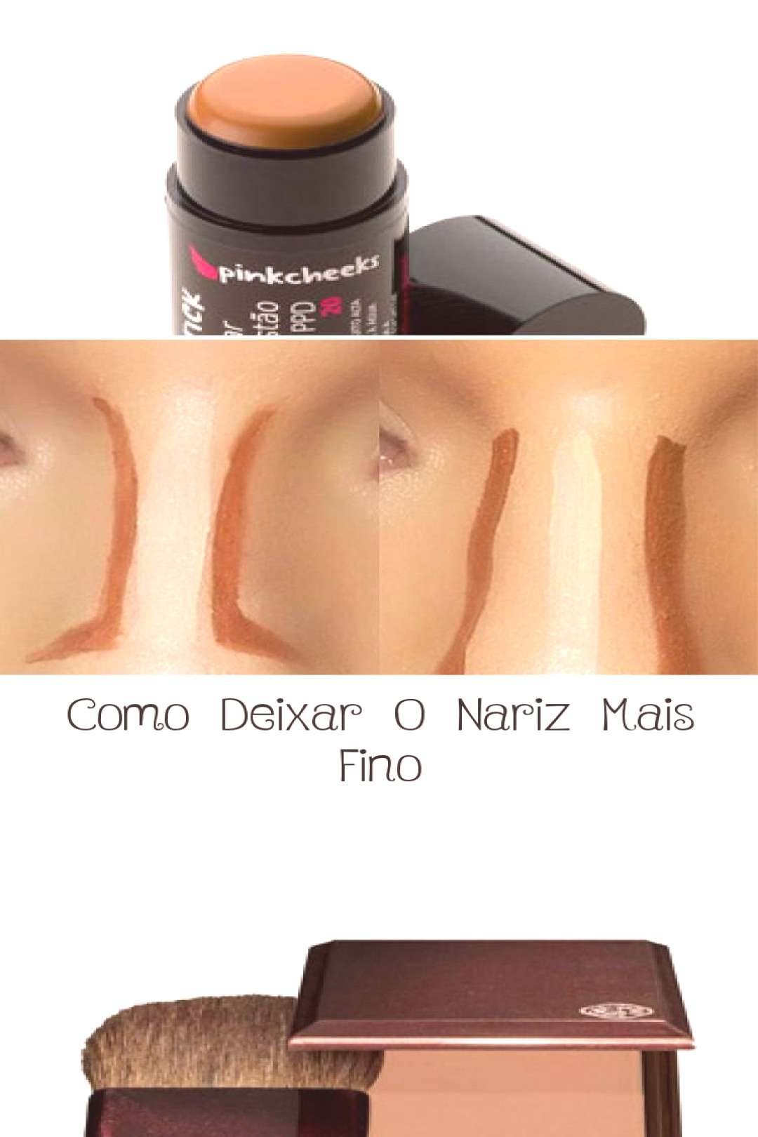 How to Make Your Nose Thinner - MAKEUP - Nose contour | Face Contouring Tutoring ... -  How to Make