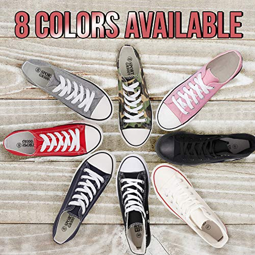 KE DI Leather USA Womens All Star Style S-3 Canvas Shoes for