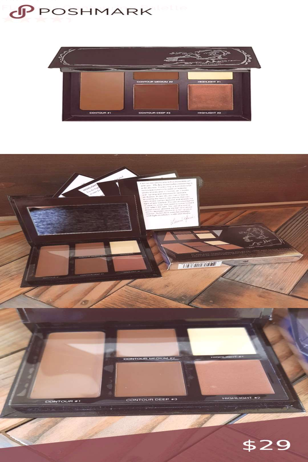 Laura Mercier flawless contouring palette A new, exclusive contouring palette th...