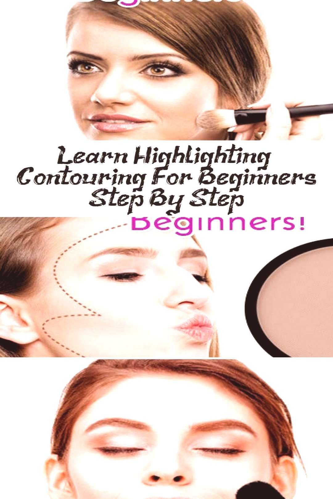 Learn Highlighting amp Contouring For Beginners Step By Step… - Makeup Beauty#beauty