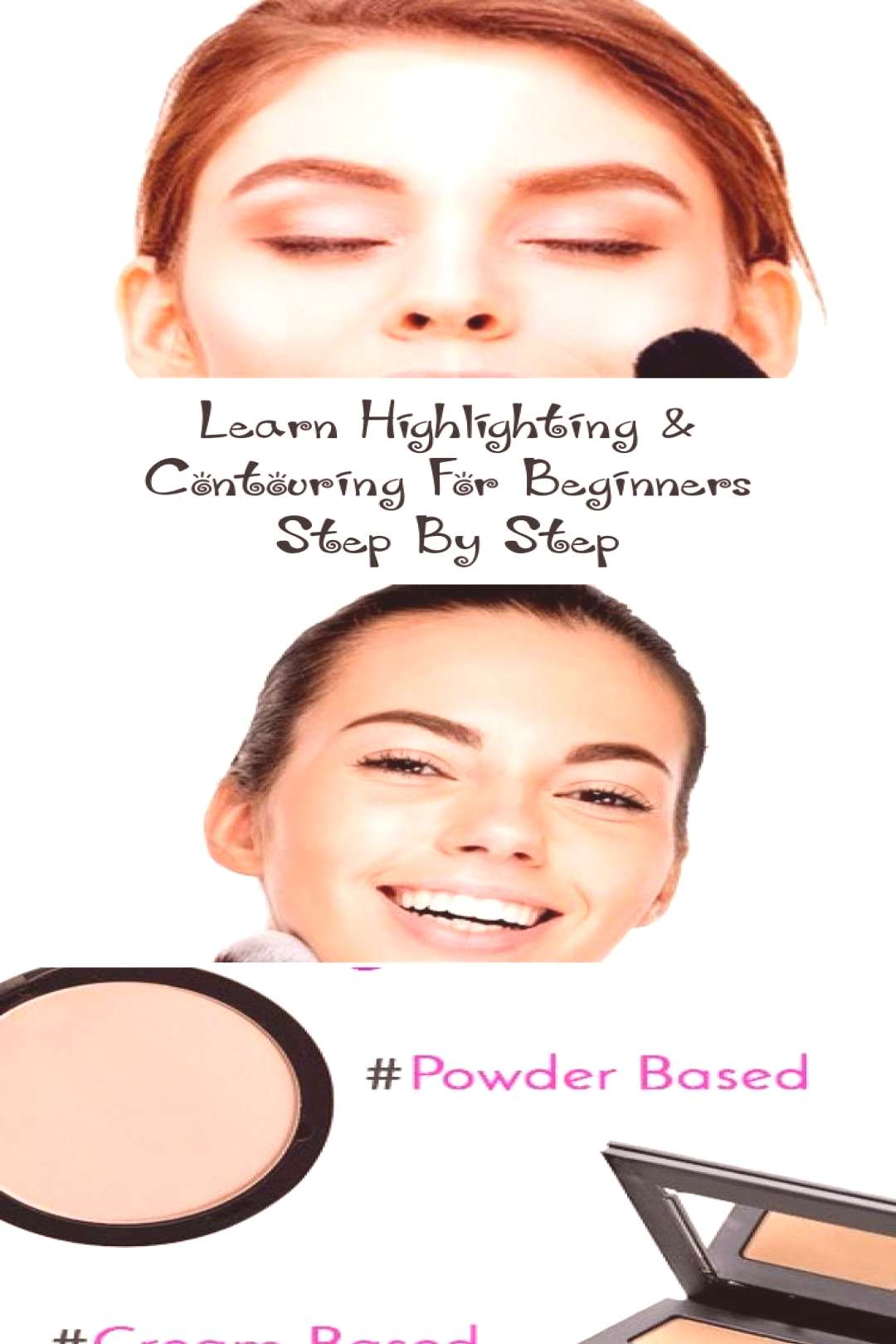 Learn Highlighting amp Contouring For Beginners Step By Step… - MAKEUP - Highlighting,contouring f