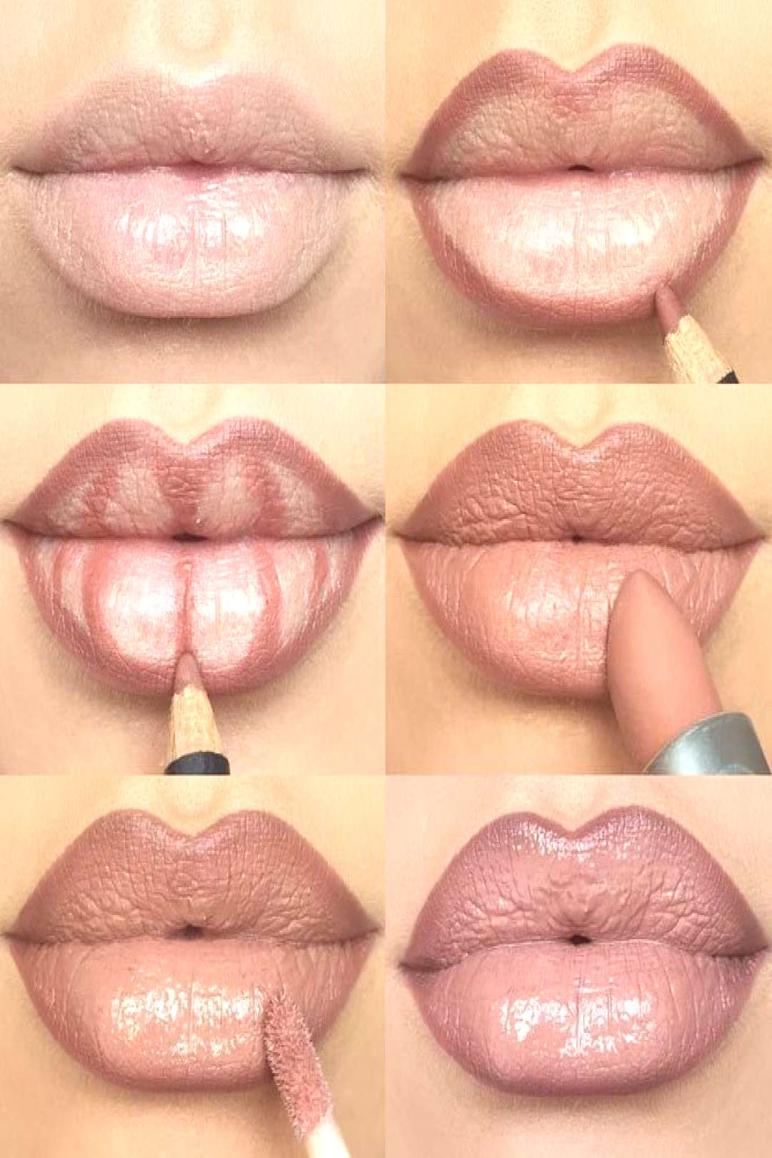Lips full of make-up: lip contouring and ombré lips are the trend - new best - ... -  Lips full of