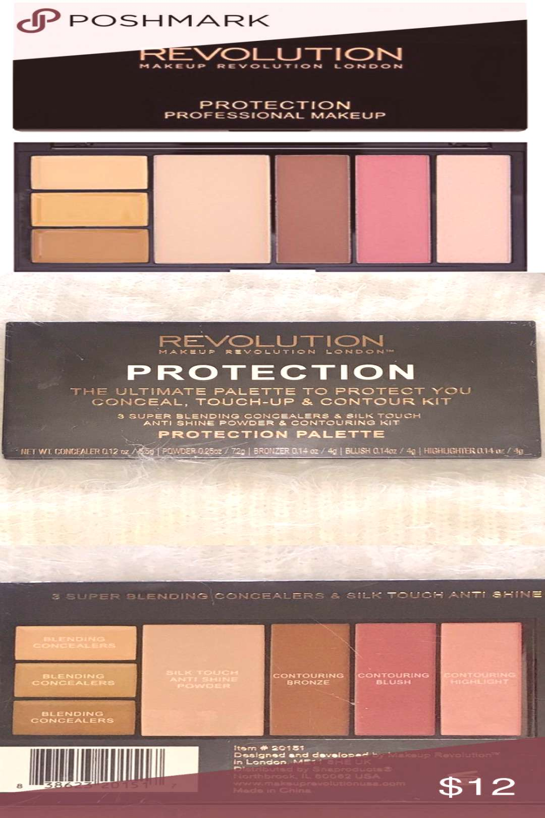 Makeup Revolution Protection Palette Brand new in original packaging The ultimate palette to prote