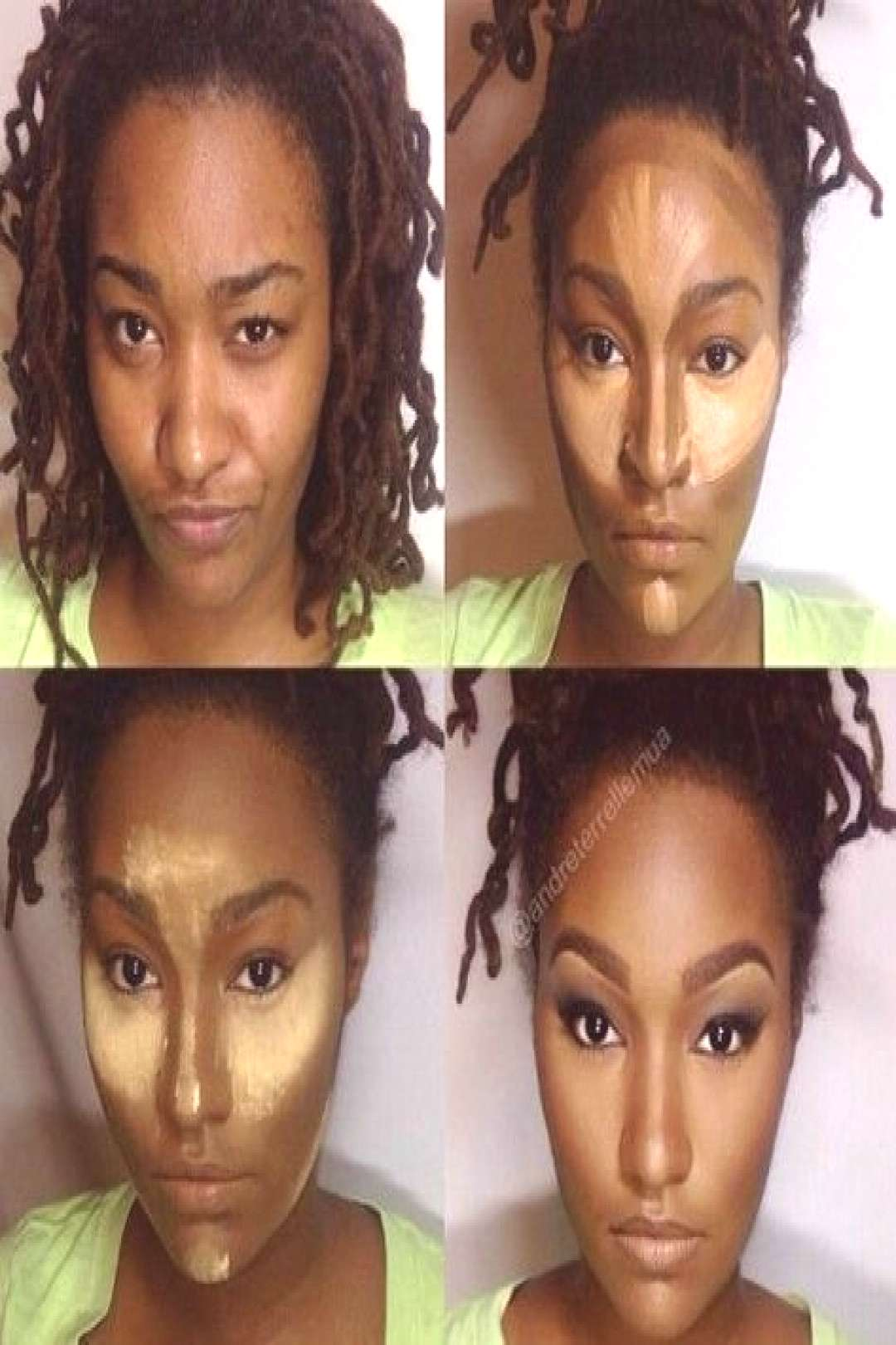 Makeup Tutorial For Black Women Contouring African Americans 56+ New Ideas - Ma... - Makeup Tutor