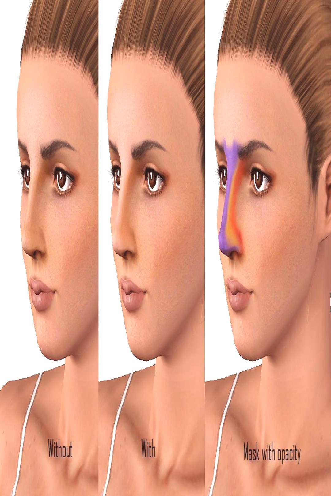 Mod The Sims - Nose Contouring Blush - Mod The Sims – Nose Contouring Blush -