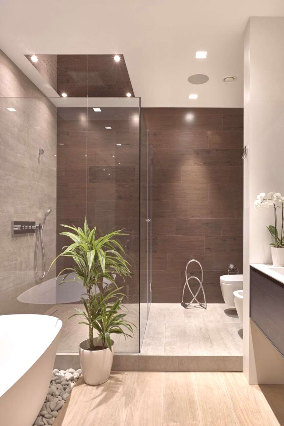 Modern Contemporary Bathroom Design Ideas Collections That Worth To for 12 Modern Contemporary Bath