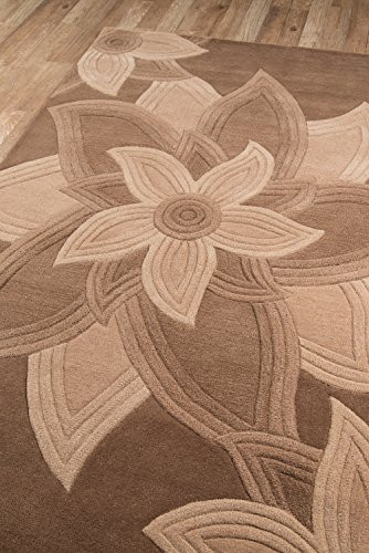 Momeni Rugs Delhi Collection 100% Wool Hand Carved amp Hand