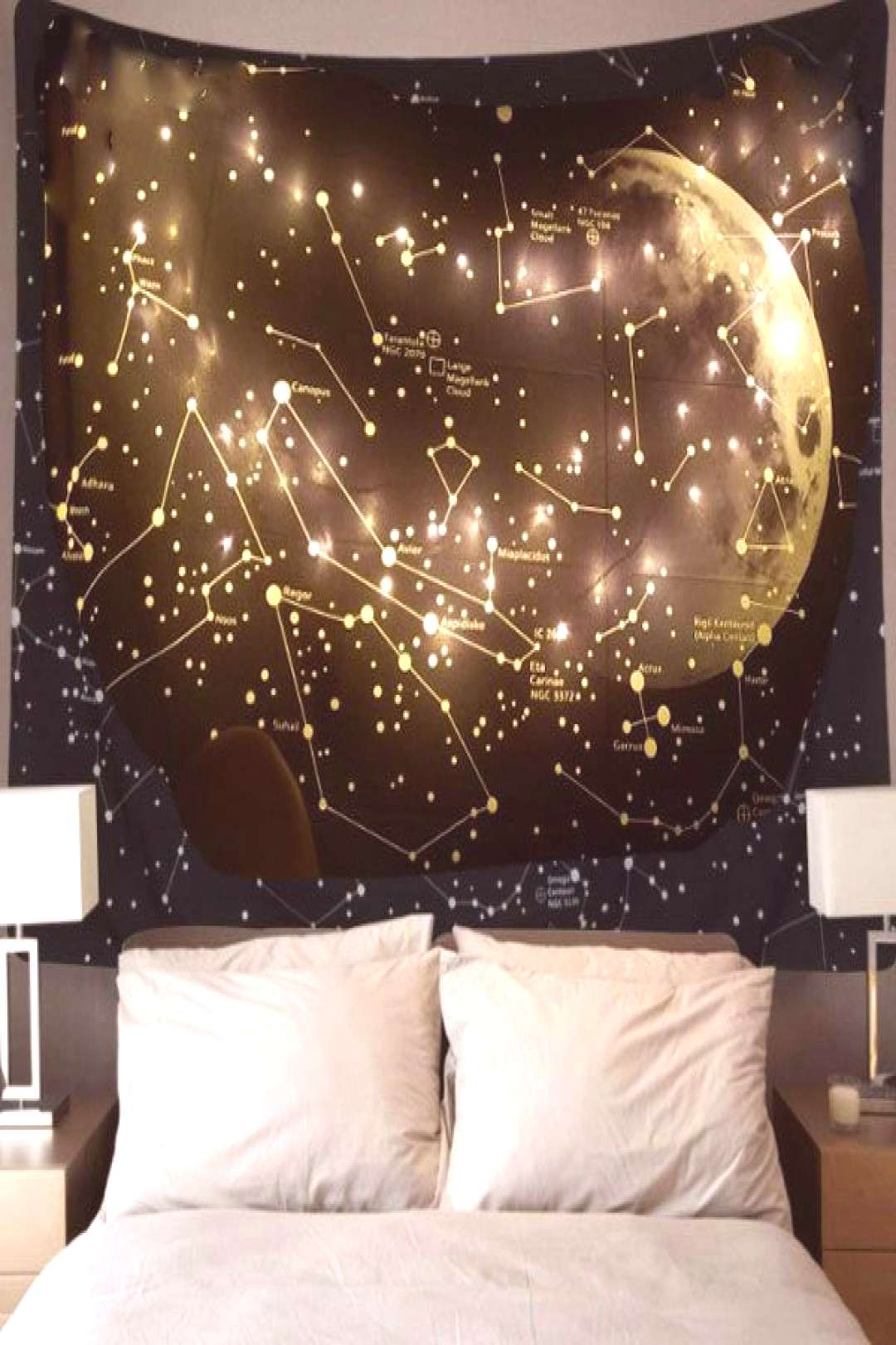 Moon Constellations Tapestry from Apollo Box#apollo