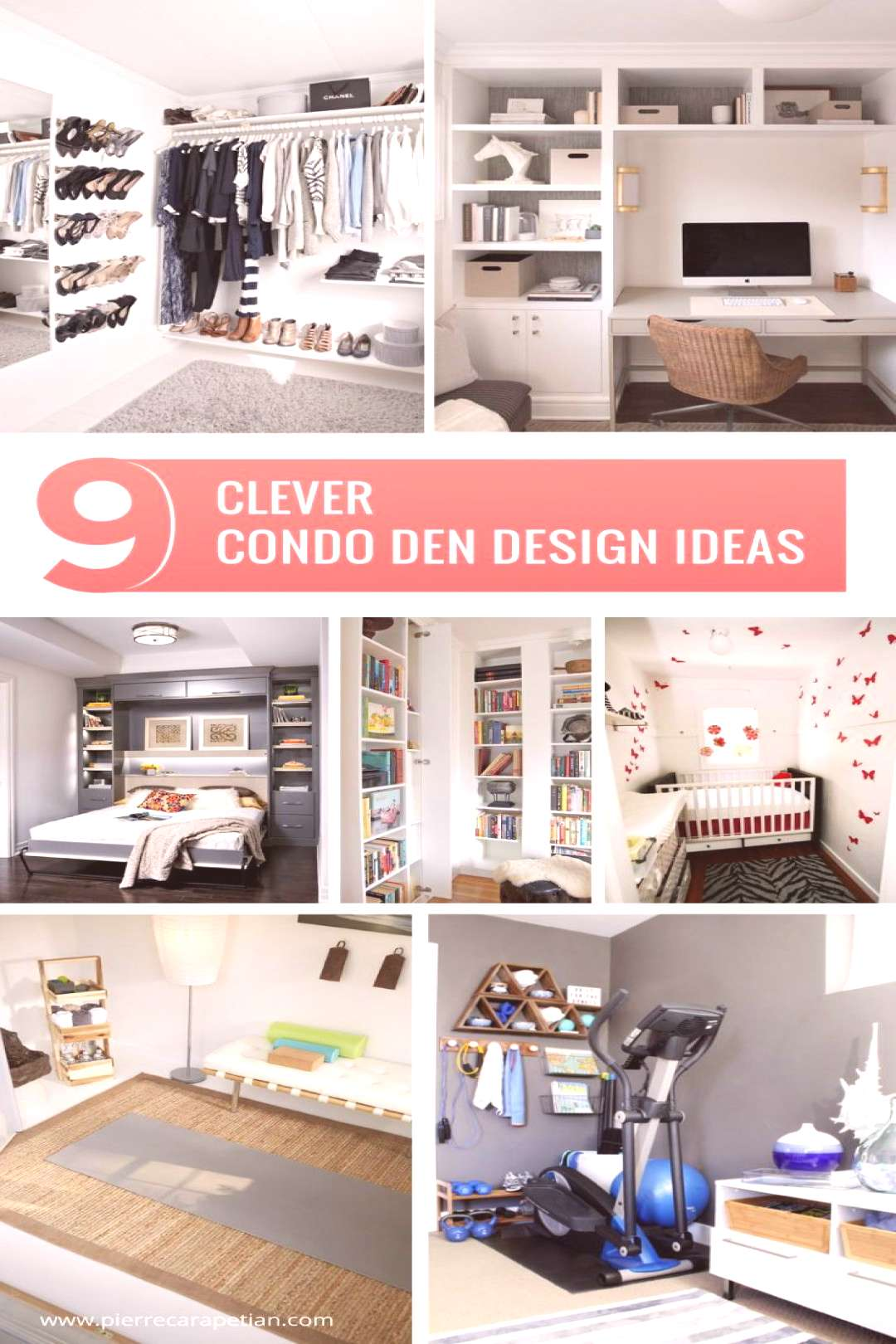 Not all dens are created equal. Get inspired by these 9 clever condo den design ideas to get the mo