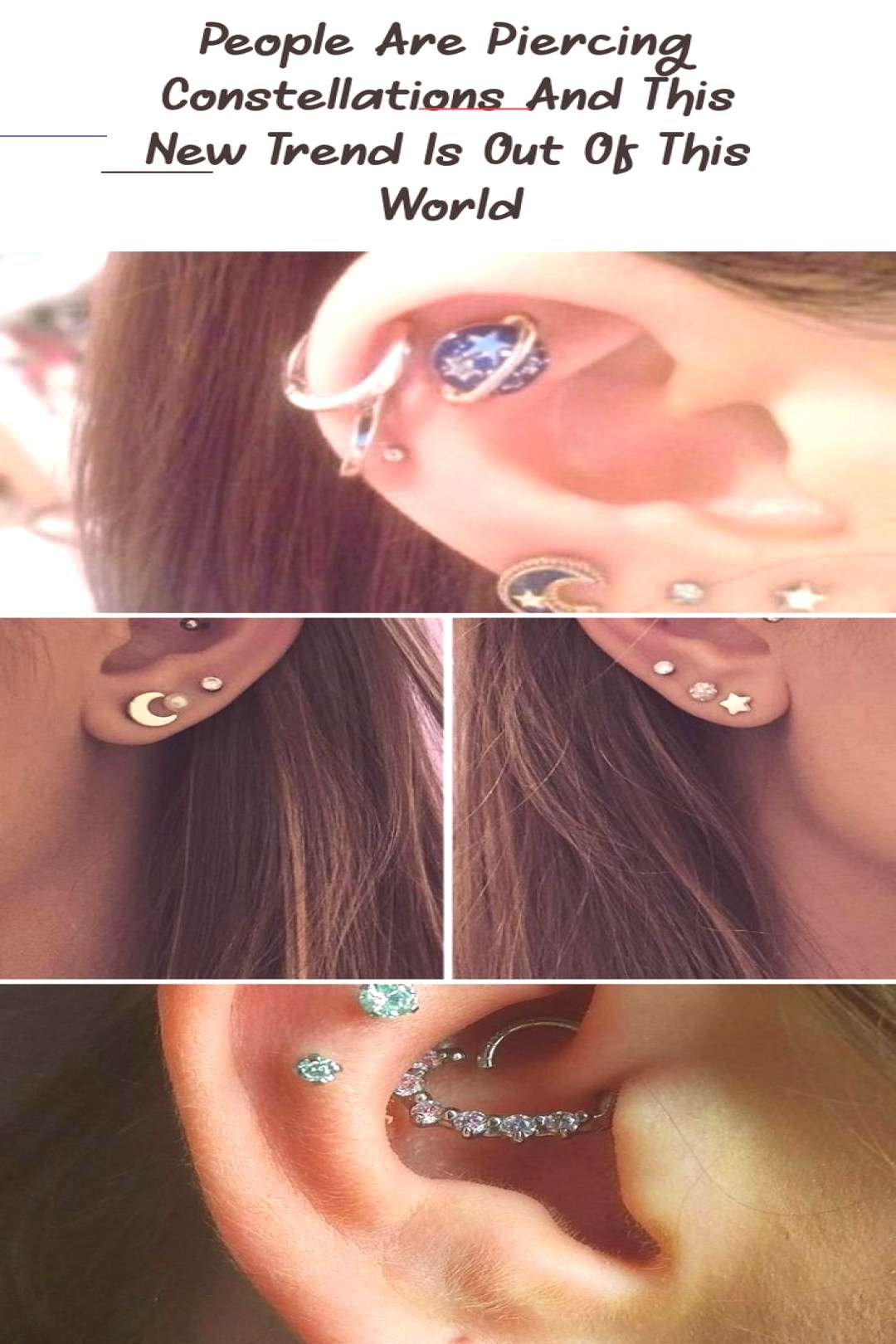 People Are Piercing Constellations And This New Trend Is Out Of This World - PIE... ,