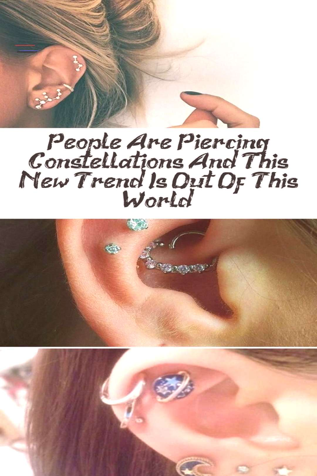 People Are Piercing Constellations And This New Trend Is Out Of This World - Pie... -