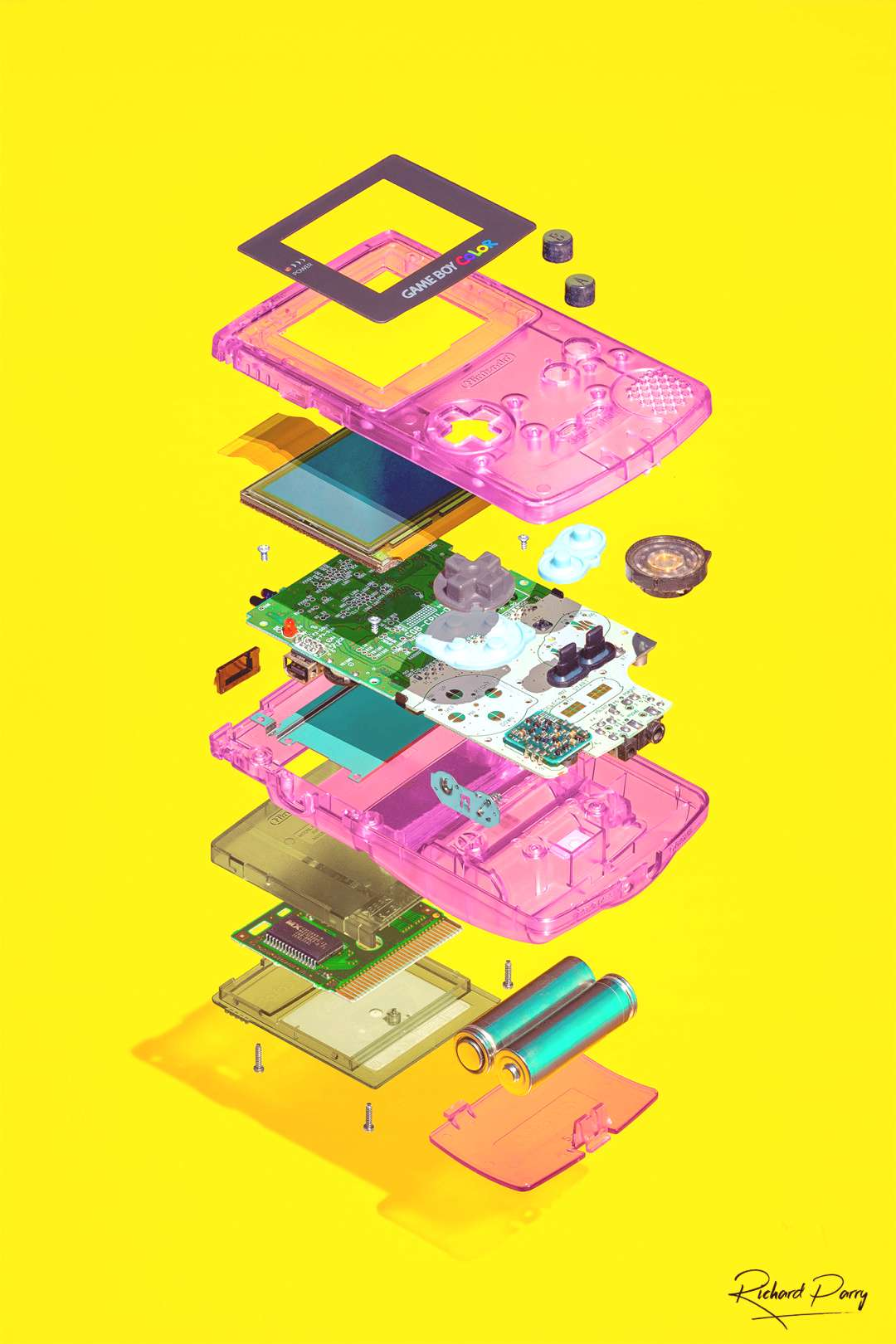Photographer Captures The Hidden Beauty Inside Stripped Down Gaming Consoles,Photographer Cap... Ph