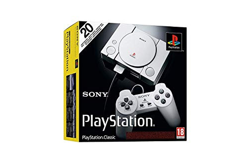 Playstation Classic Console with 20 Classic Playstation