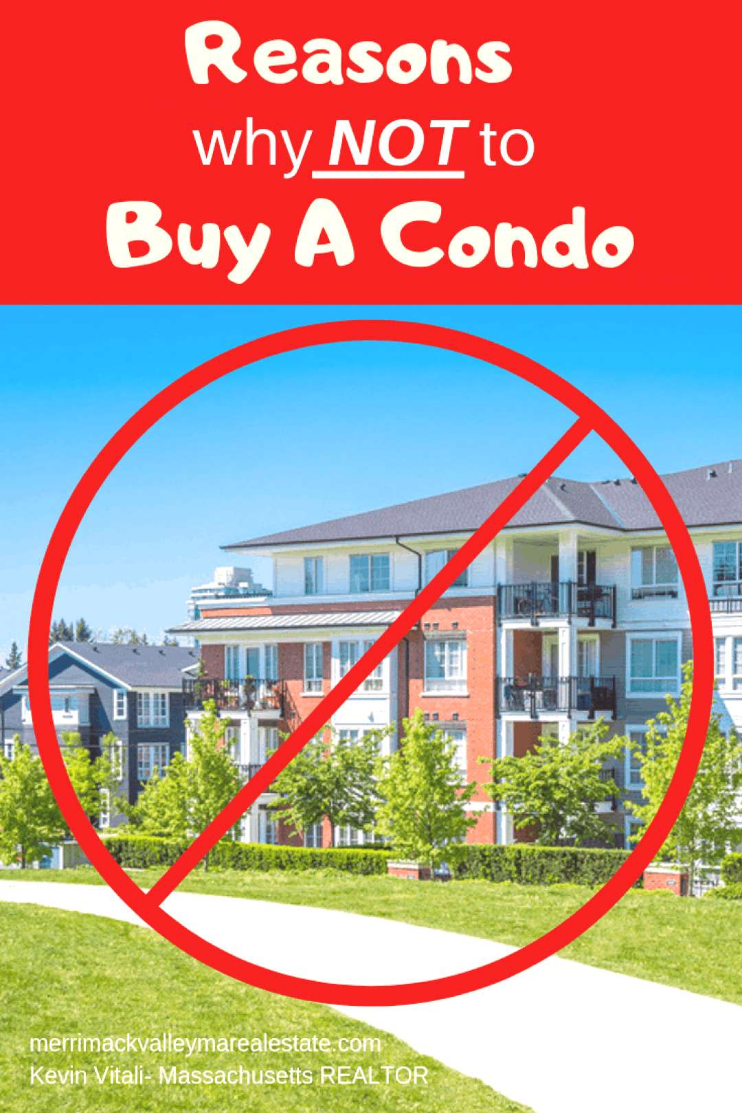 Reasons why not to buy a condominium. While buying a condo for some is a good opprortunity, buying
