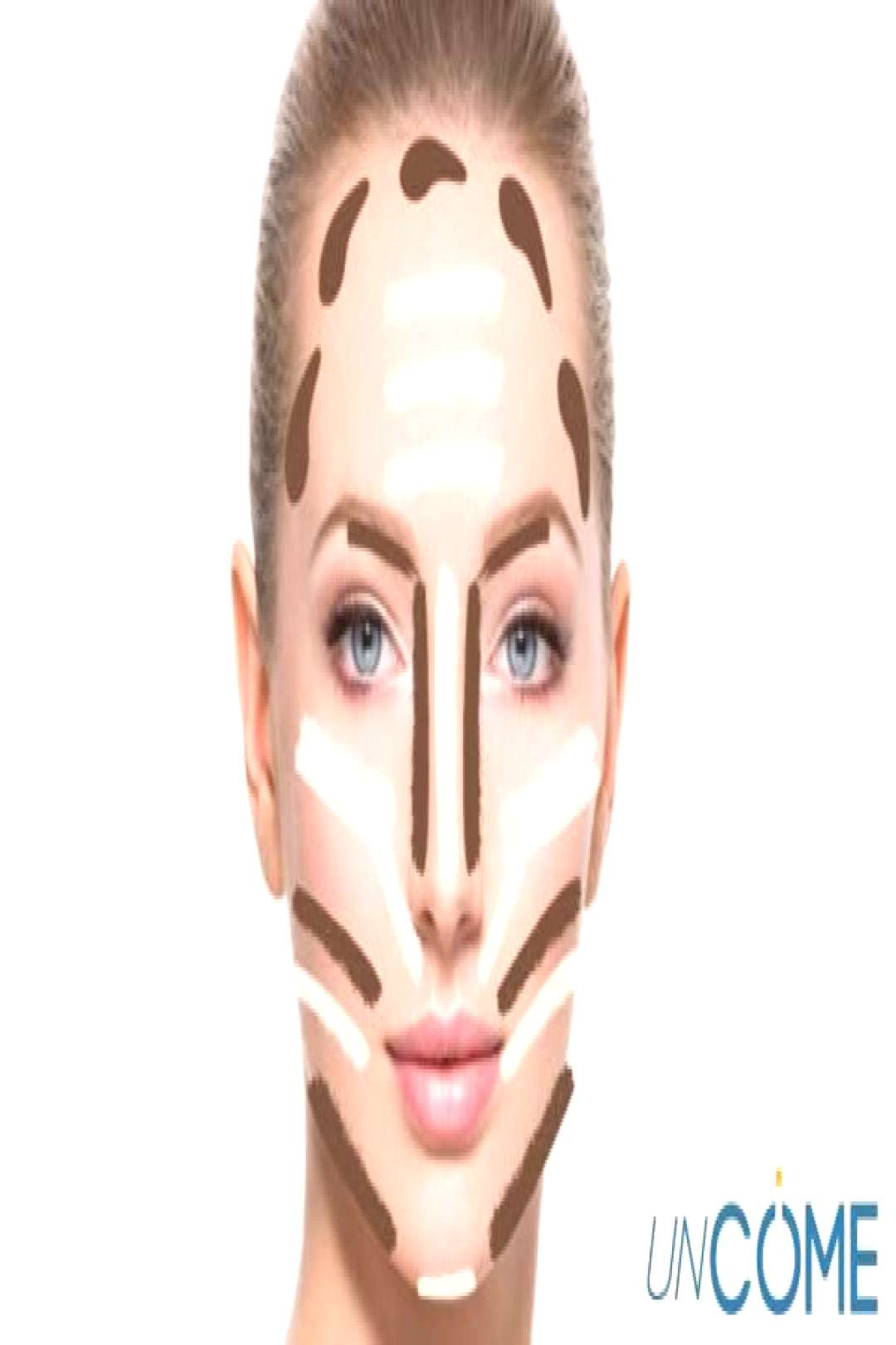Step-by-step facial contouring based on YOUR shape - Tips and tricks  -