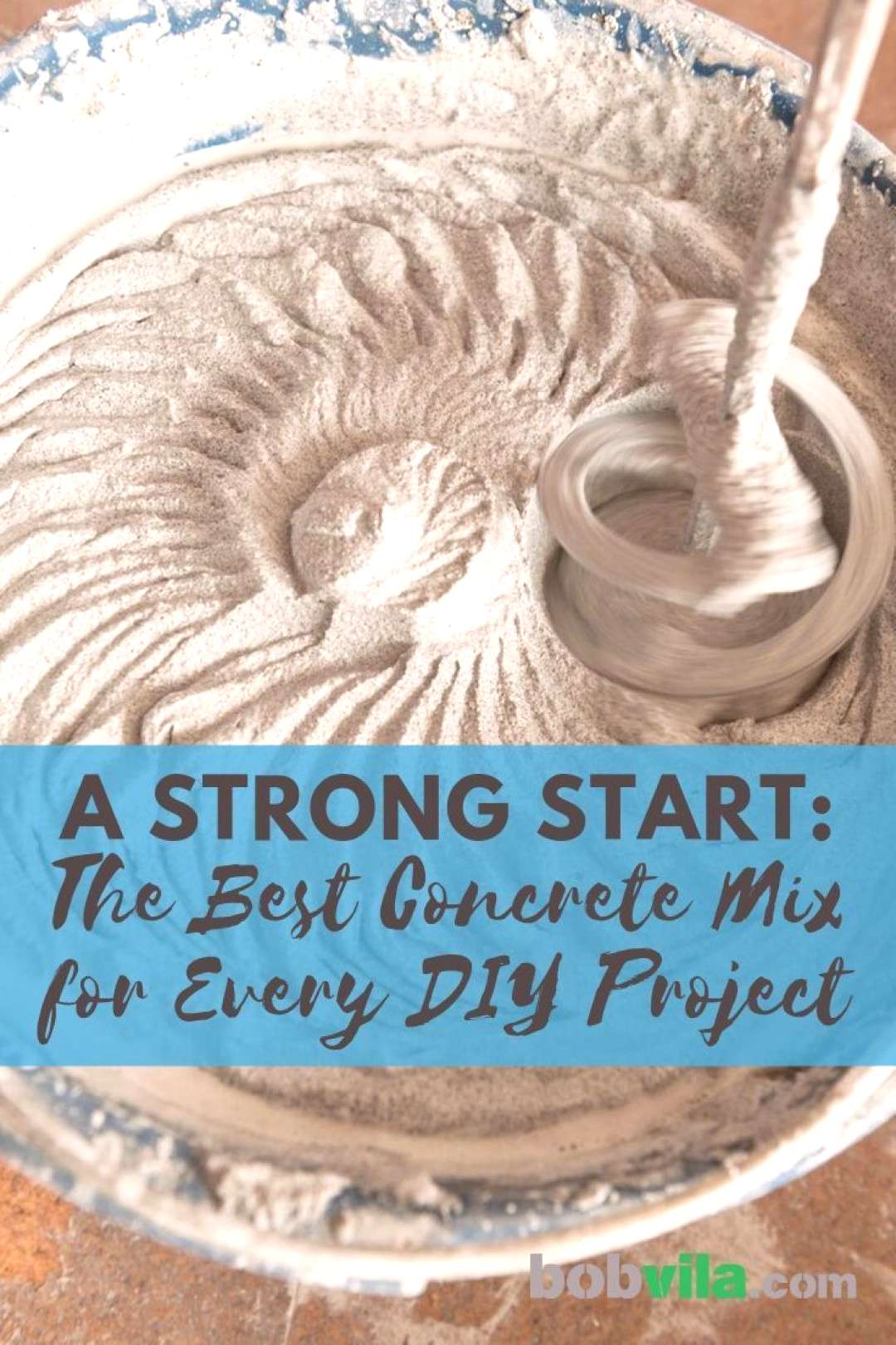 The Best Concrete Mix for Every DIY Project