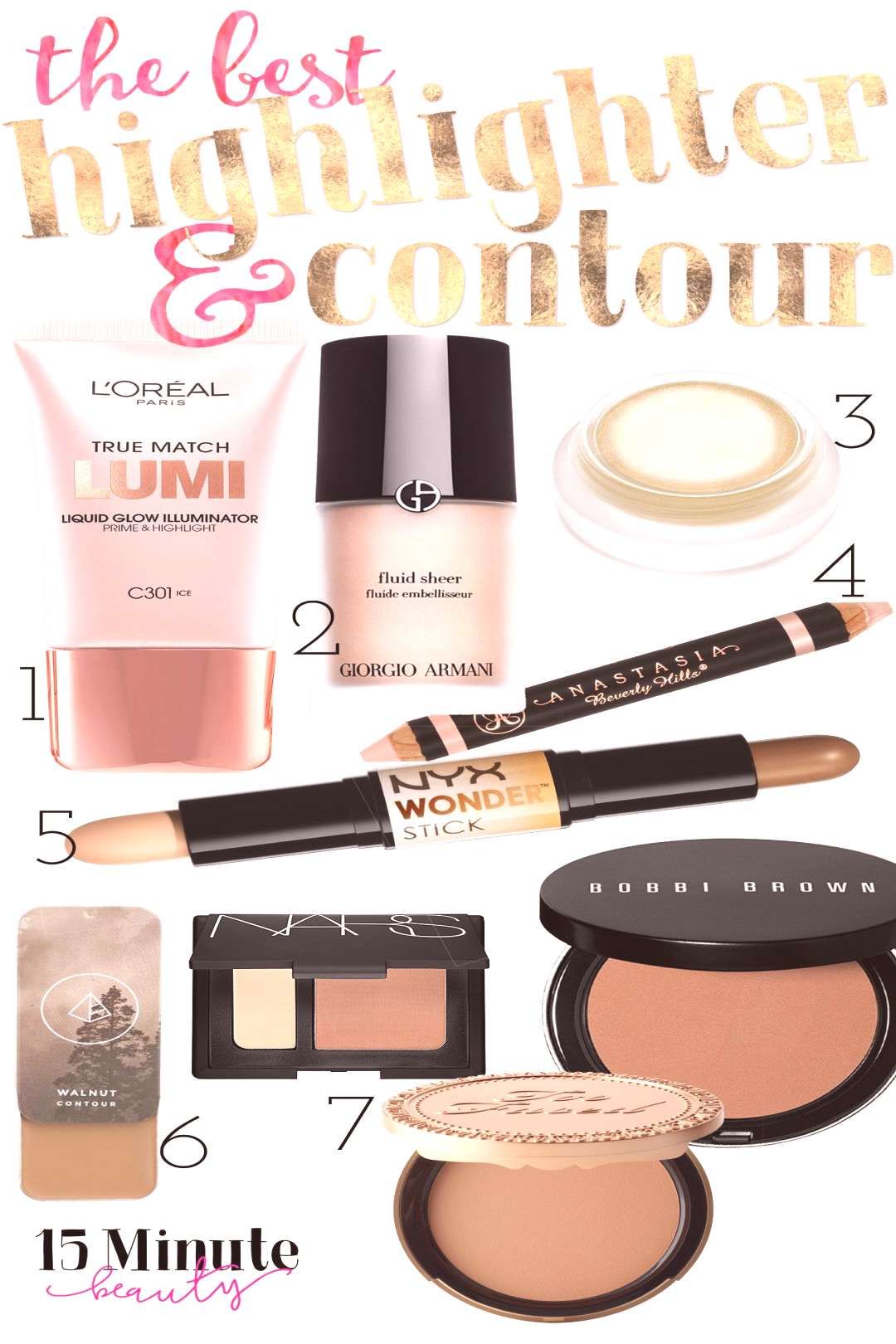 The Best Highlighting and Contouring Makeup - 15 Minute Beauty Fanatic - Informationen zu The Best