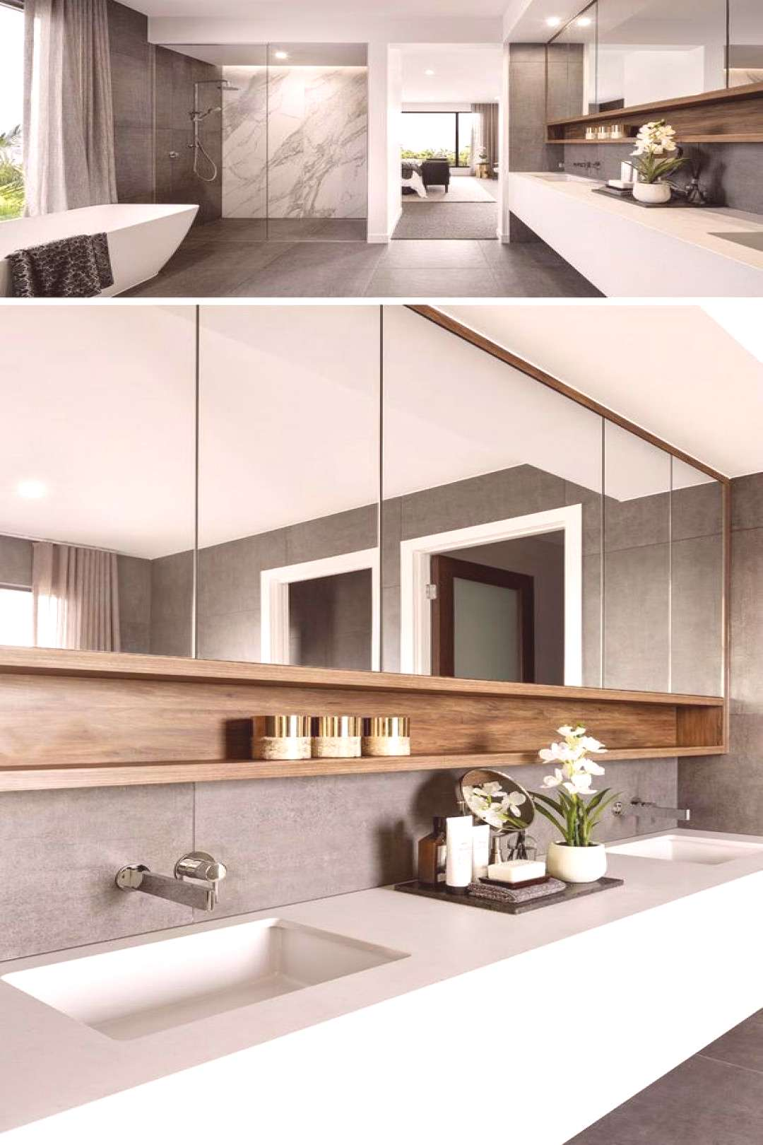 The most interesting about having a modern bathroom is on its simplicity without losing its functio