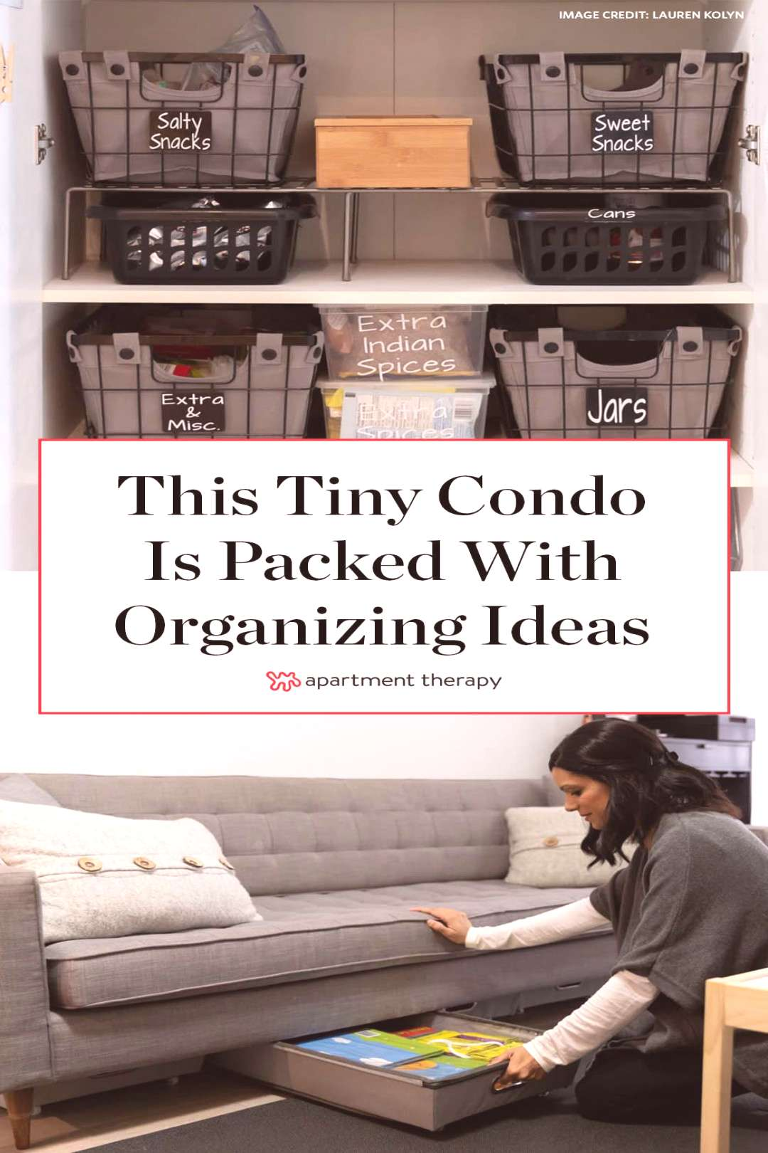 This Tidy Toronto Condo is Packed with Organizing Ideas You'll Want to Steal