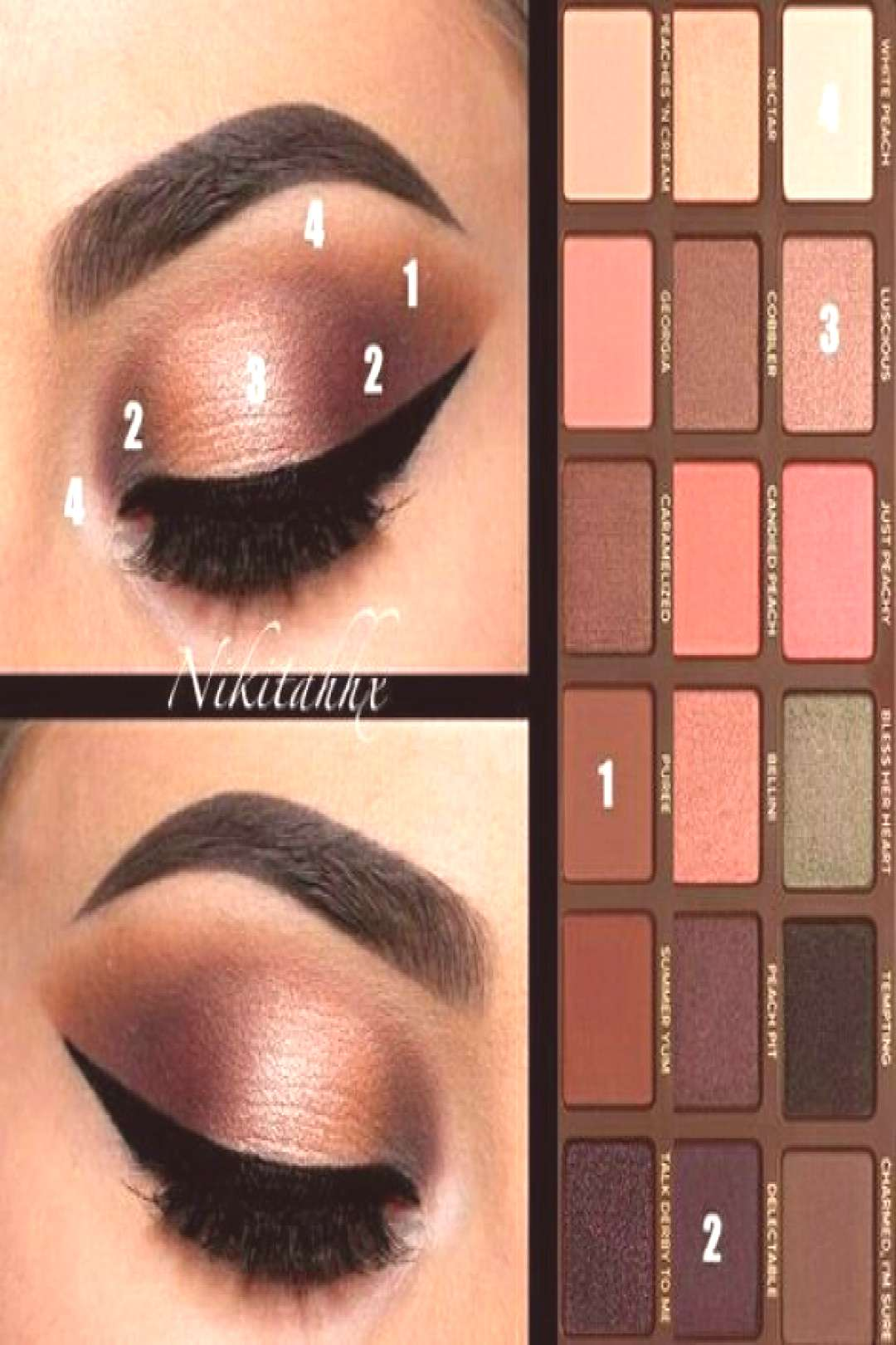 Too Faced Sweet Peach palet tutorial Source by amy5222563