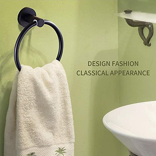 Towels Rack Stainless Steel Suction Cup Bath Towel Ring