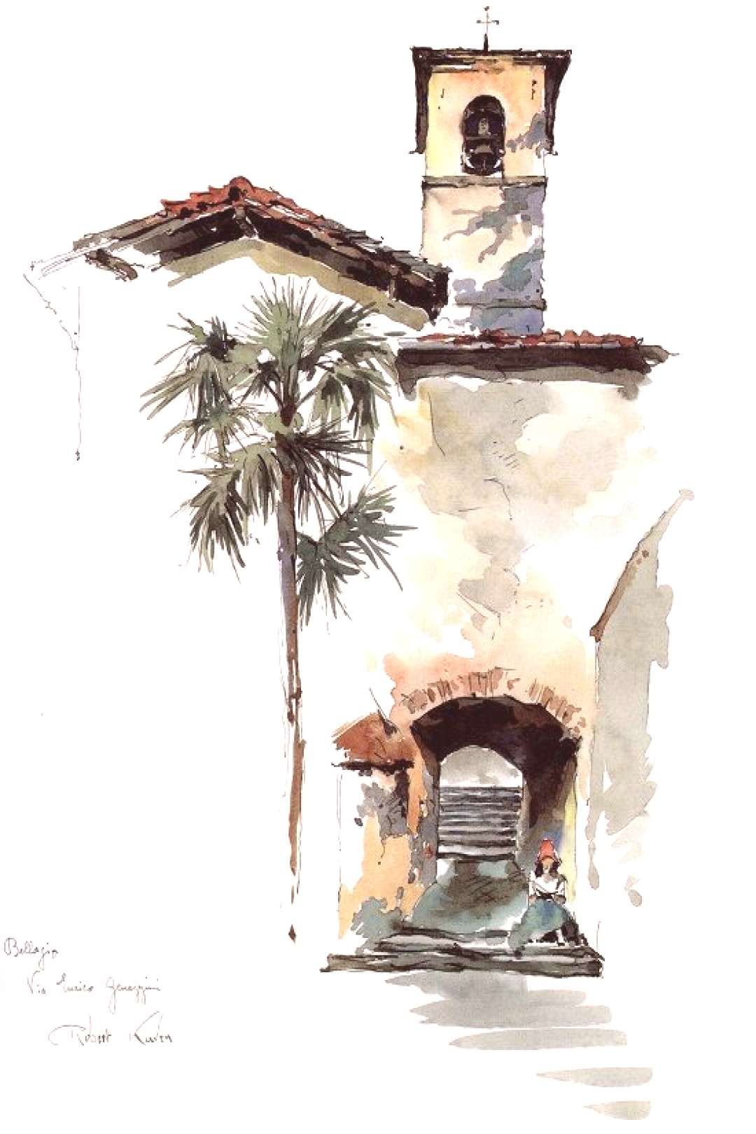 Very simple watercolor drawing - the picture looks very 2D - not much contouring. - Artists   Trend