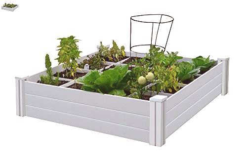 Vita Gardens 4x4 Garden Bed with Grow Grid, Packaging may