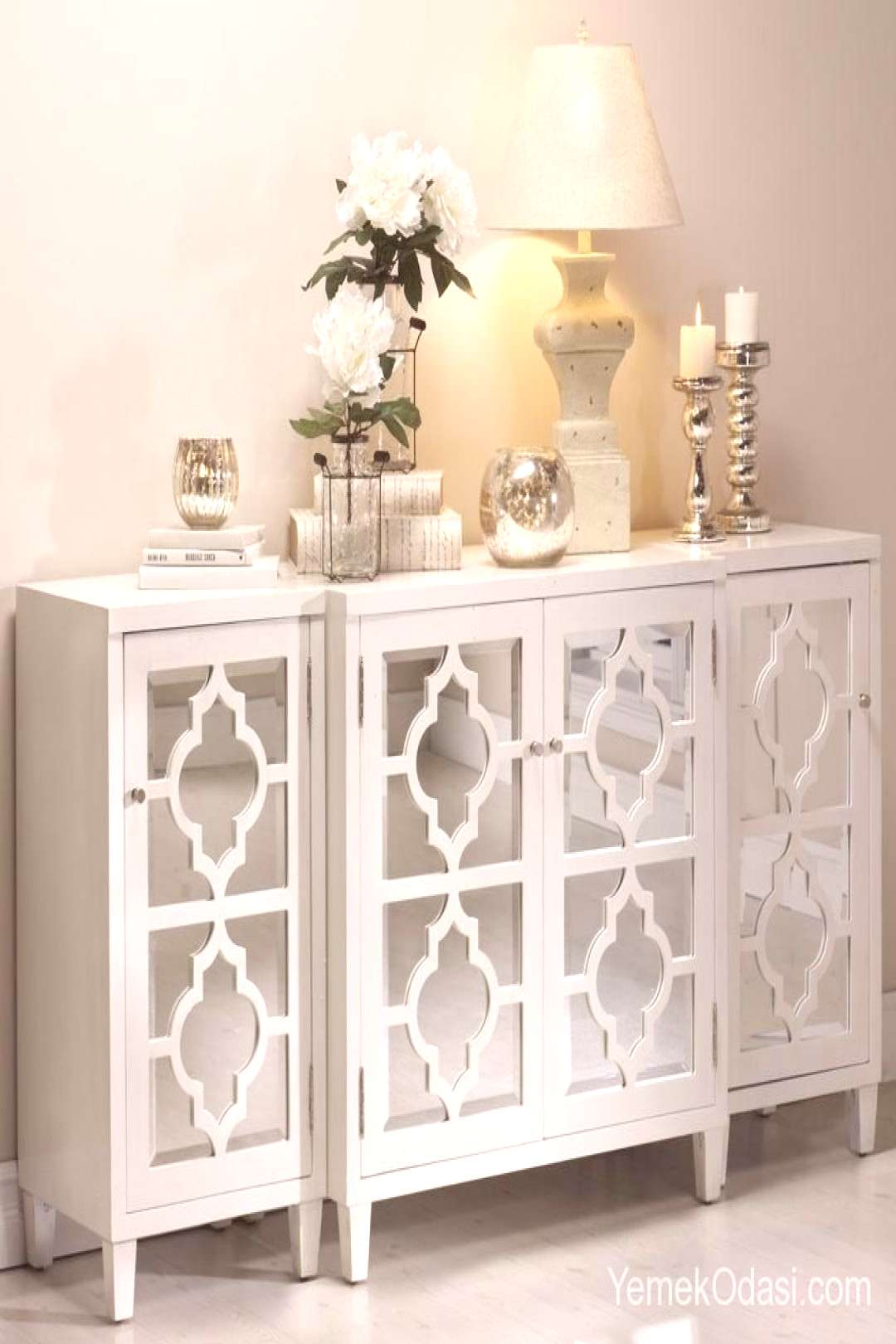 White Consoles Makes your dining room functional, add elegance and sophistication ... - White Cons