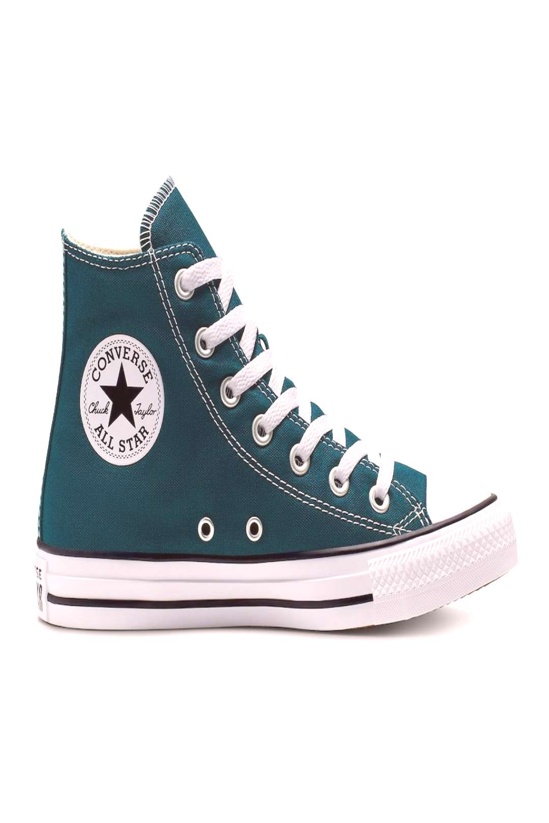 Womens Converse Chuck Taylor All Star High Top Shoes, Size 8.5, Turquoise/Blue