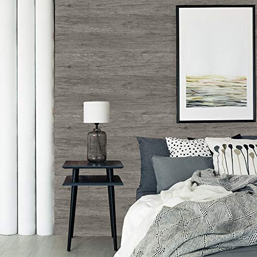 Wood Contact Paper Grey Wood Peel and Stick Wallpaper Wood