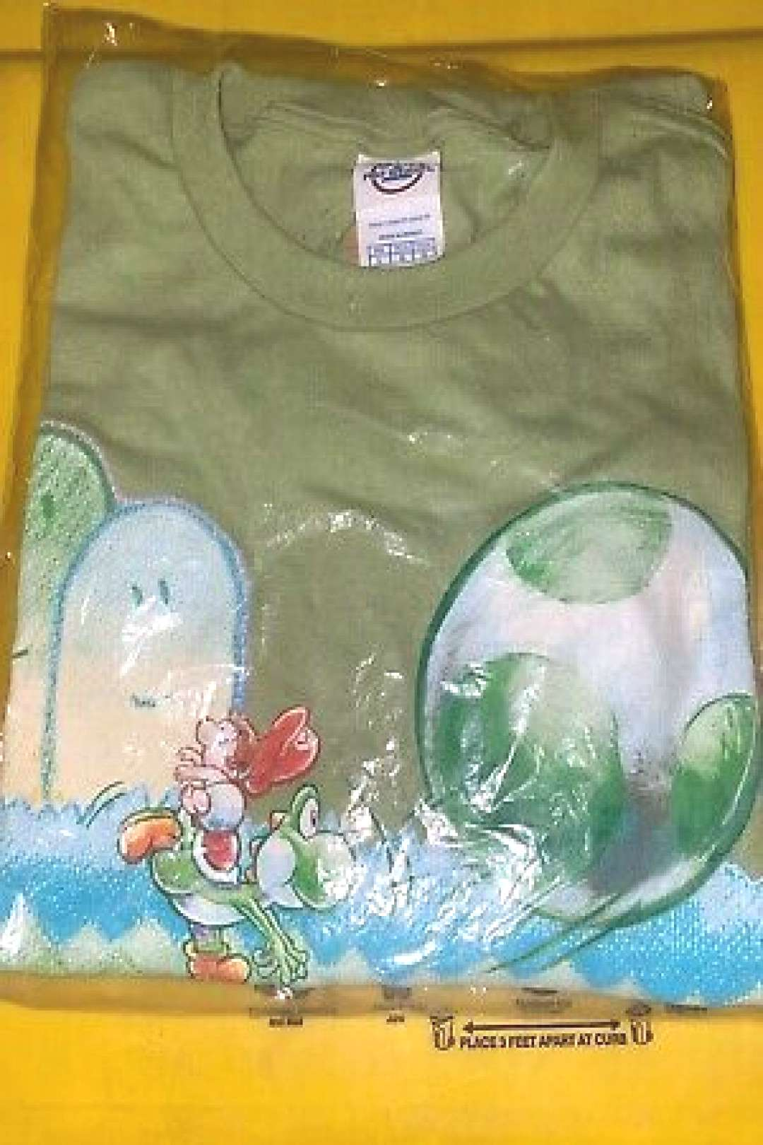 Yoshis Island Nintendo Promo Shirt Large Size New In Package (ebay link)