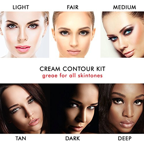 Youngfocus Cosmetics Cream Contour Best 8 Colors and